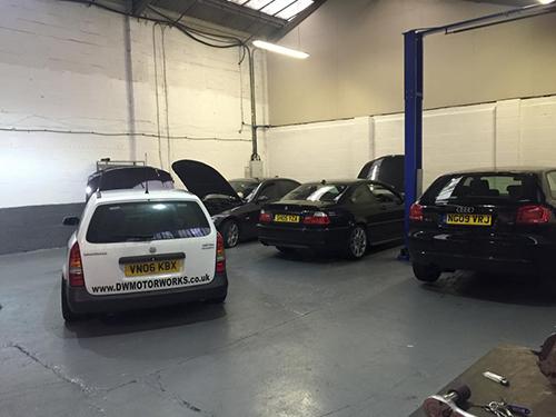 DWMotorworks Servicing, Repairs, Diagnostics on BMW MINI LEXUS and Mercedes